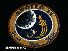 NASA APOLLO MISSION 14 COLLECTOR PATCH MOON LANDING MOON TREE KITTY HAWK ANTARES