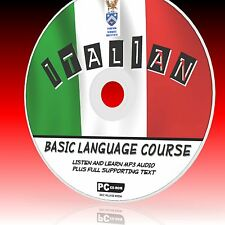 LEARN TO SPEAK ITALIAN PCCD LANGUAGE COURSE EASY 2 FOLLOW PROGRAM MP3 + TEXT NEW