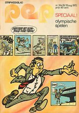 PEP 1972  nr. 34 - AGENT 327 (COVER) / SPECIAL OLYMPISCHE SPELEN
