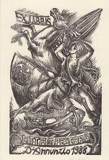 Uboldi Gian Luigi (1)   EXLIBRIS xilografia