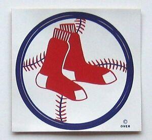 BOSTON RED SOX  REDSOX STICKER VINTAGE  1971 MEYERCORD MFG. CO. HIGH QUAL