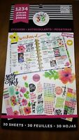 MAMBI Create 365 Happy Planner Sticker Today Is The Day 1234 pcs Sticky Notes