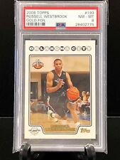 RUSSELL WESTBROOK 2008 Topps  #199 Gold Foil PSA 8 (2775)