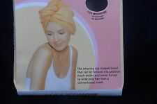 2xMICROFIBRE HAIR TOWEL - 'MAGIC WRAP' - PERFECT FOR DRYING HAIR - FREE POSTAGE