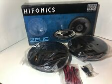 "HIFONICS 600W 6.5"" Zeus Series 3-Way Coaxial Car Stereo Speakers ZS653 NEW!"