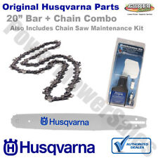 "20"" Husqvarna Bar Chain & Maintenance Kit For 51 55 Chainsaws"