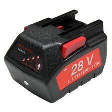 For MILWAUKEE 28V M28 V28 Power Tool Battery 48-11-2830 2.0Ah with LED Gauge