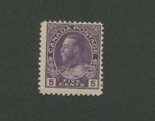 1922 Canada King George V 4c Mint NH Postage Stamp #112 Catalogue Value $100