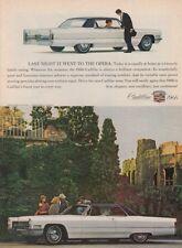"1966 Cadillac Sedan DeVille Hardtop photo ""Whatever the Occasion"" promo print ad"