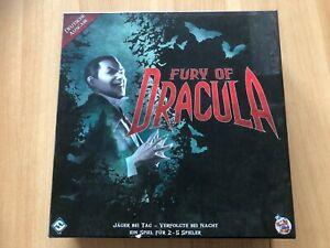 Fury of Dracula, 3. Auflage, deutsche Ausgabe, Heidelberger Spieleverlag