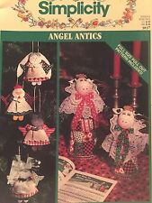 Simplicity 3837 SEWING PATTERN Christmas Angel Decoration CRAFT Book