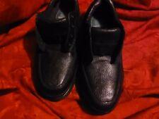 Men's NUNN BUSH Cameron Oxford Comfort Gel Soft leather Black shoes size 12 EUC