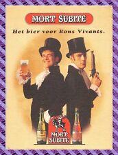 Sous Bock - MORT SUBITE - Bière - Beer
