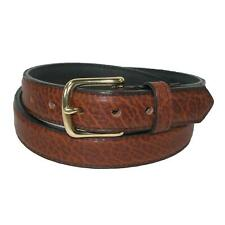 New Boston Leather Men's Big & Tall Bison Leather Belt