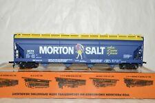 HO scale TYCO Morton Salt billboard advertising ACF covered hopper car train