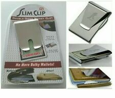 Slim Clip Double Sided Money Clip As Seen on TV NEW Ships Fast !!!