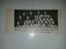 Glenville High School Cleveland Ohio 1911 Football Picture VERY RARE