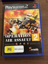 Operation Air Assault 2, PS2, good cond complete, tested, Playstation 2