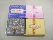 Satya Sai Nag Champa Super Hit Rose Sandal Incense 12 Cone X 4 Boxes = 48 Cones
