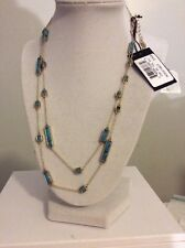 $118 House of Harlow 1960 The Long Rains Station Wrap Necklace HH-34