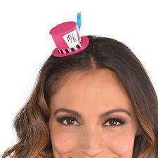 Wonderland Mad Hatter Children's Tea Party Mini Top Hat Fascinator Hair Clip