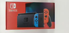 New Model Nintendo Switch with Neon Blue and Neon Red Joy-Con