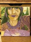 """Cher's Poppy Paradise"" Original Painting 12x12"