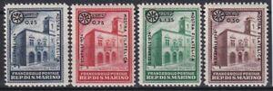1934 SAN MARINO N.180/183 SERIE CPL 4 VALORI NUOVO MNH**