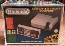 Nintendo NES/SNES Mini Acrylic Case / Display / Box / Protective Case