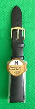 Hirsch 17mm cuero reloj correa y hebilla en Diamante Ternero