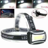 2000LM Rechargeable LED Headlamp Durable Headlight Flashlight Head Light Lamps