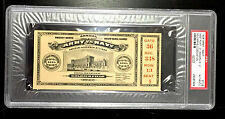 1926 ARMY/NAVY FOOTBALL GAME TICKET SOLDIER FIELD DEDICATION GAME PSA