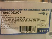 Toto Soiree Roman Tub Faucet Trim TB960DD#CP
