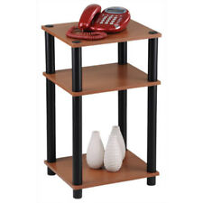 Momentum Furnishings PBF-0287-303 Telephone Stand, Cherry with Black Accents