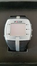 Polar FT7 Heart Rate Monitor With Transmitter Strap Black Silver New Battery