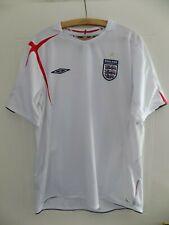 2006 World Cup Home Umbro England Football Mens Soccer Jersey Shirt Adults XL