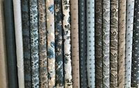 "Penny Rose ~ /""Something Blue/"" ~ 100/% Fine Cotton ~ Per HALF yard"