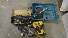 Joblot Of Mixed Power Tools - Makita Dewalt Bosh - Spares Repairs