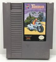 Nintendo NES Thundercade Video Game Cartridge *Authentic/Cleaned/Tested*