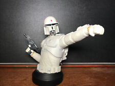 Star Wars Gentle Giant Ralph Mcquarrie concept Boba Fett bust / statue