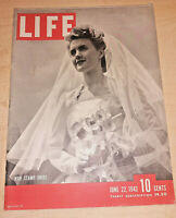 Life Magazine June 22 1942 - U.S.S. Lexington Sinks, Nations Sign Alliances, etc