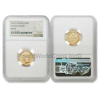France 1831-A Incuse Letters 20 Francs Gold NGC XF45