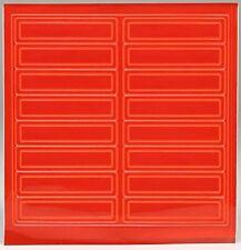 Rk Adhesive Vinyl Retro Reflective Hard Hathelmet Sticker 1 L X 4 W Rkhr16