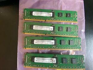16GB, 4x 4GB PC3-14900R DDR3 1866Mhz Server / Workstation RAM, Micron 1RX4
