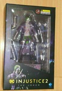 Hiya Toys INJUSTICE 2 : THE JOKER 1:18 Scale 4 Inch Mini Figure DC Comics ##