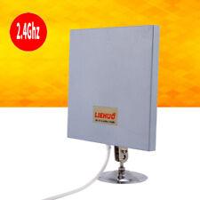Antenna Richtantenne 2.4GHz 14dBi Wifi Wlan Range Extender drahtlos Panel DE