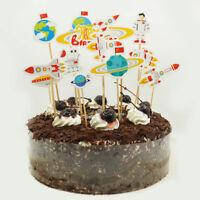 cake topper rocket cake insert card wedding birthday party supply decors US