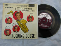 JOHNNY / HURRICANES EP ROCKING GOOSE London re x 1284 EX.....45rpm