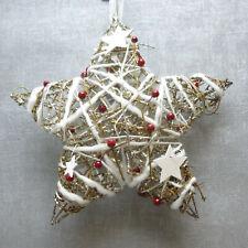 Formano Weihnachten Advent flackernde LED Kerze auf einem Stern Acryl sinnlich