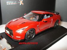 PREMIUM X PRD517J NISSAN GT-R BLACK EDITION 2014 RED au 1/43°